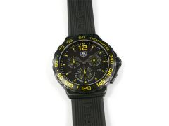 TAG Heuer Formula 1 Black / Yellow Chronograph CAU111E.FT6024