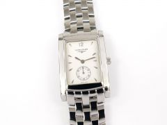 Longines DolceVita White Rectangular Stainless Steel L5.655.4