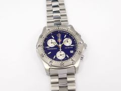 TAG Heuer 2000 Classic Blue / Silver Chronograph CK1112-0