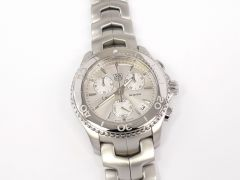 TAG Heuer Link Chronograph Silver Dial CJ1111