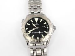 Omega Seamaster Black Chronometer America's Cup Limited Edition 2833.50.91