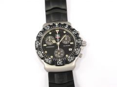 TAG Heuer Formula 1 Chronograph CA1211-R0 on Rubber Strap F1