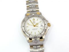 TAG Heuer 6000 Professional WH1151 Stainless Steel & 18k Gold