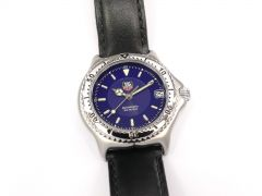 TAG Heuer SEL Automatic Blue WI2211 Sports Elegance Link