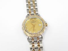 Raymond Weil Tango Champagne Dial with 18k Gold and Diamond Bezel 5360