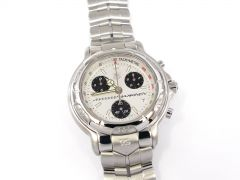 TAG Heuer 6000 Chronograph Silver CH1118 Mika Hakkinen Limited Edition