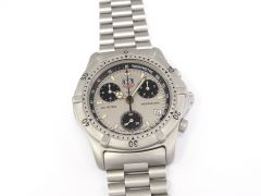 TAG Heuer 2000 Chronograph Silver / Black Classic CE1111