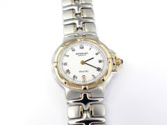 Raymond Weil Parsifal White Roman Numeral Dial with 18k Gold 9990