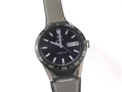 TAG Heuer Connected 46 Titanium on Grey Leather SAR8A80.FT6073